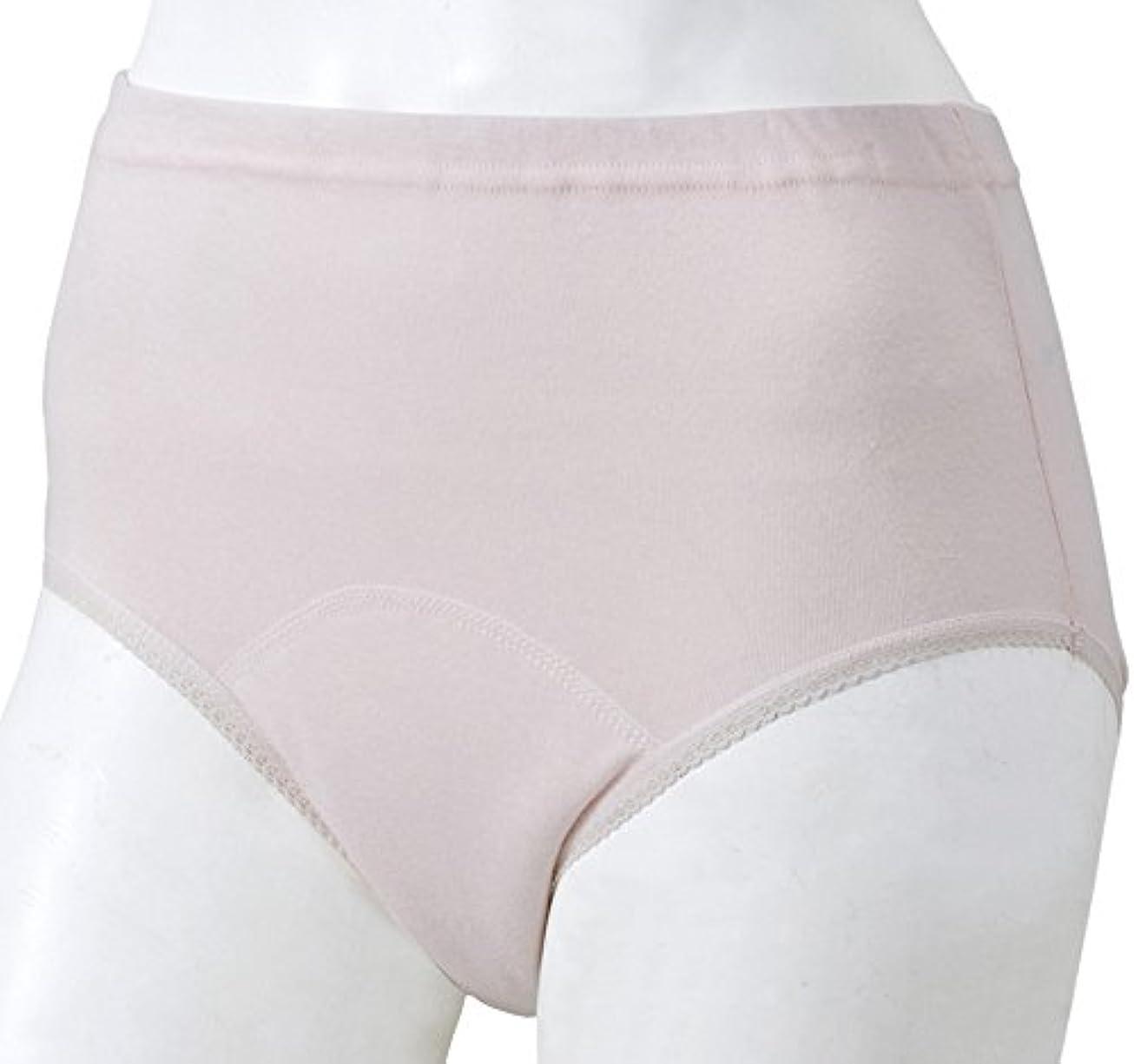 演じるマインド皮肉な豊通オールライフ 下着 女性 婦人失禁パンツ ショーツタイプ L ヒップ92~100cm ピンク レース付 吸収量60ml 抗菌 消臭