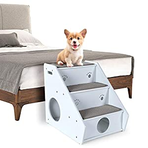 Petsfit 3-Steps Wooden Dog Stairs