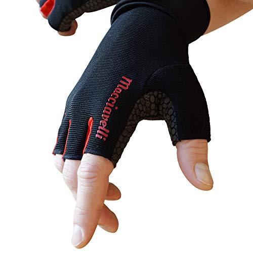 MACCIAVELLI Fitness Handschuhe für Herren und Damen - Trainingshandschuhe mit Handgelenkstütze für Kraftsport, Crossfit, Bodybuilding, Krafttraining & Calisthenics