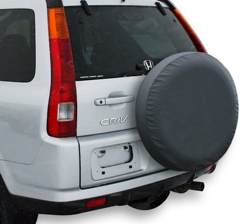 Car Styling SUV Spare Tire Cover 14 Inch PVC Spare Wheel Cover Compatible For Honda CR-V 24-26