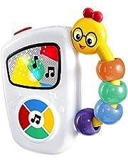 Baby pågång lätt greppbar musikleksak på resan, med ljus, 10 melodier och volymreglage, från 3 månader