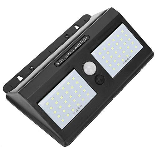 Luce solare a LED, lampada da parete con sensore PIR 3 metri di sensibilità 60 luci per prodotti per la casa da donna per forniture per ufficio