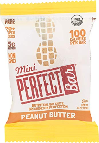 Perfect Bar, Bar Mini Peanut Butter Organic, 0.74 Ounce
