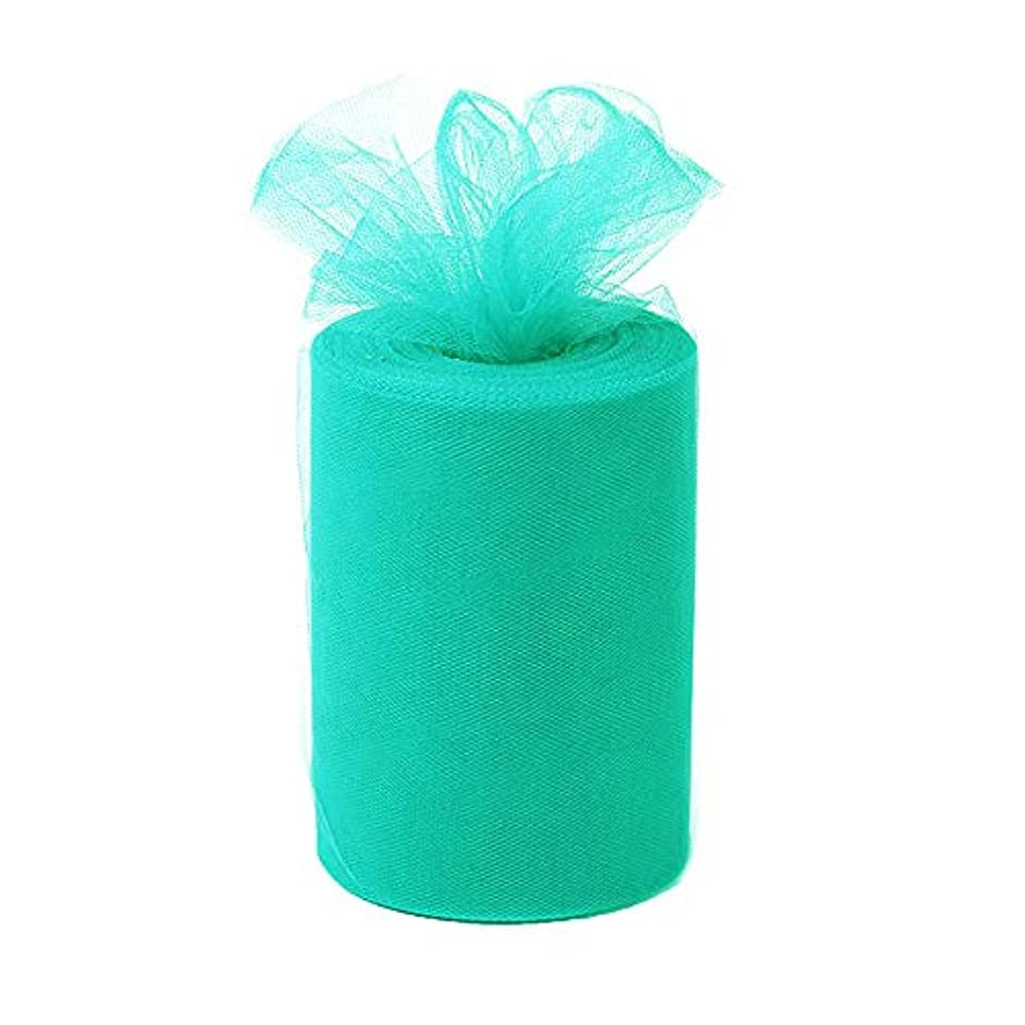 Desirable Life 6 Inch x 100 Yards (300ft) Tulle Roll Spool Fabric Tutu for DIY Skirts Wedding Gift Wrap Sewing Crafting Bow Bridal Decorations Birthday Party