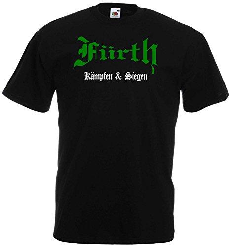 world-of-shirt Herren T-Shirt Fürth kämpfen und Siegen