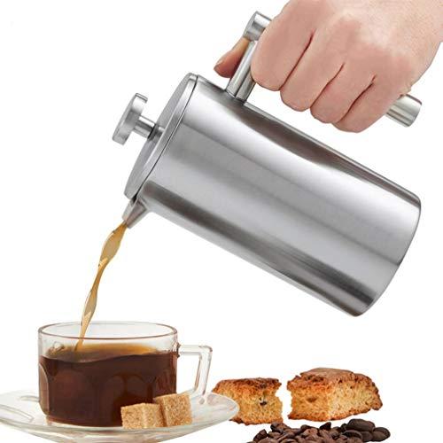 Nieuwe Franse Koffiemachine RVS Geïsoleerde Koffie Thee Maker Pot