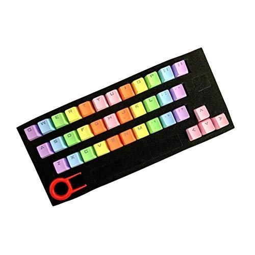Cicony 37 Keycap Teclado mecánico Teclado Translucidus PBT Gaming Keycap Set