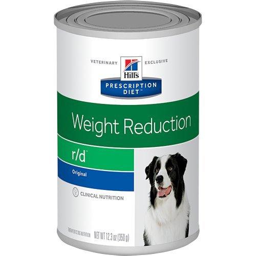 Hills Pet Nutrition Ltd Recipe Diet R/D Riduzione del peso Conserve alimentari per cani 12/12.3 oz