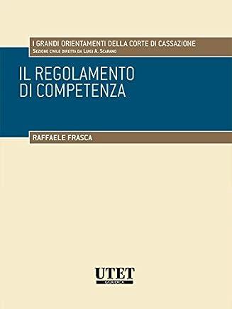 Il regolamento di competenza