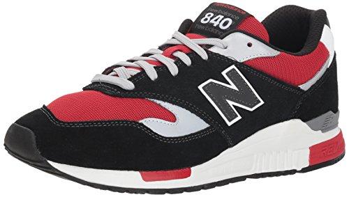 New Balance 840, Zapatillas de Running Hombre, Gris (Magnet/Team Red CE), 41.5 EU