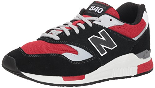 New Balance 840, Zapatillas de Running Hombre, Gris (Magnet/Team Red CE), 41.5 EU