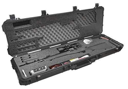Case Club Springfield M1A Pre-Cut Waterproof Rifle Case with Accessory Box and Silica Gel to Help Prevent Gun Rust (Gen 2)