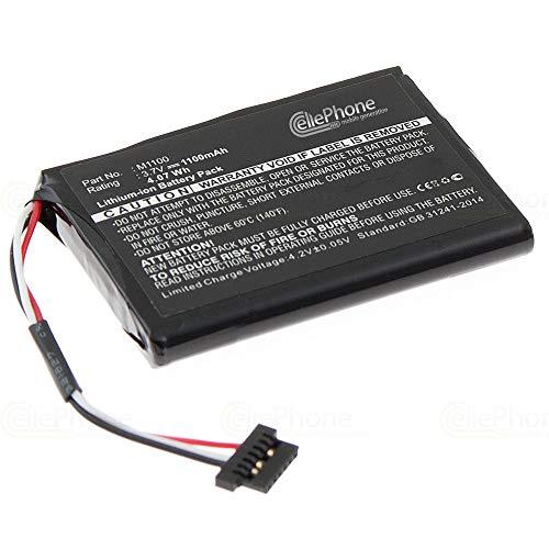 cellePhone Akku Li-Ion kompatibel mit Magellan Roadmate 1440 (Ersatz für M1100)