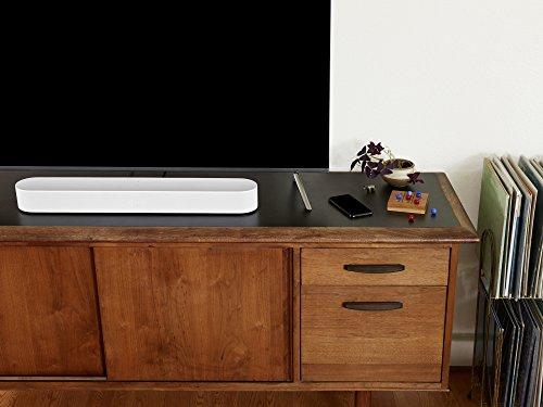 Sonos Beam Compact Smart Soundbar with Alexa built-in in White