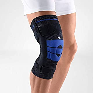 Bauerfeind - GenuTrain S - Knee Support - Breathable Knit Knee Brace Extra for Stability to Keep The Knee in Proper Position, Joint Side Bars & Adjustable Straps