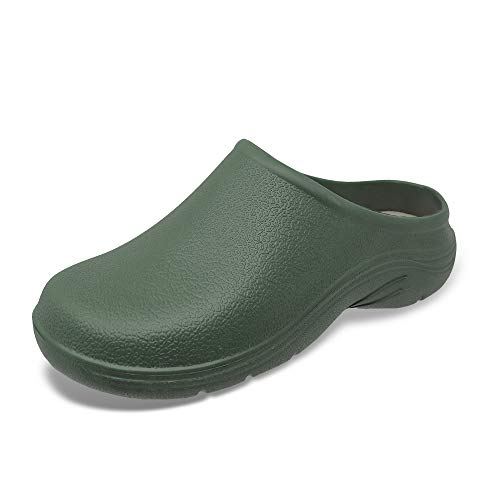 Lakeland Active Lorton Women's Garden Clogs - Cumberland Green - UK 3