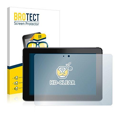 BROTECT Schutzfolie kompatibel mit Dell Venue 10 Pro (2 Stück) klare Bildschirmschutz-Folie