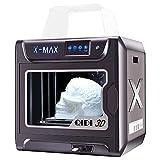 Impresora 3D inteligente Junco X-max de gran tamaño, grado industrial, pantalla táctil de 5 pulgadas, función WiFi, impresión de alta precisión con ABS, PLA, TPU, filamento...