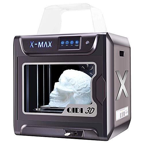 Impresora 3D inteligente Junco X-max de gran tamaño, grado industrial, pantalla táctil de 5 pulgadas, función WiFi, impresión de alta precisión con ABS, PLA, TPU, filamento flexible, 300x250x300mm