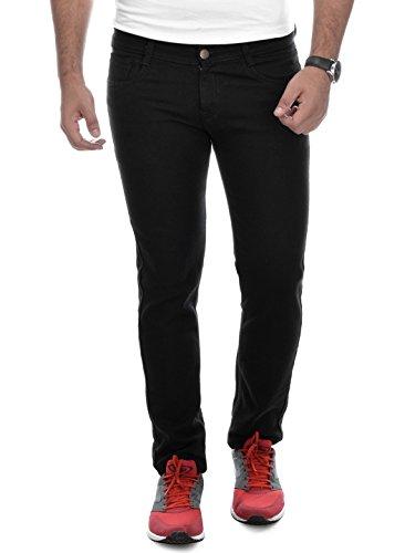 Ben Martin Men's Relaxed Fit Jeans (BM-27-BLK-p1-32) Black