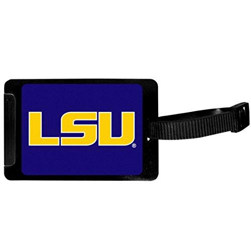 Siskiyou Sports Unisex NCAA LSU Tigers Luggage Tag, Black, 3.25