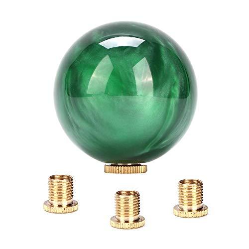 Pomello del cambio, universale M8x1,25, M10x1,25, M10x1,5 Pomello del cambio a sfera rotonda in marmo Pomello del cambio Testa del bastone con adattatori di montaggio