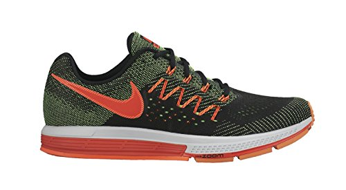 Nike Air Zoom Vomero 10, Zapatillas de Running Hombre, Negro/Verde/Rojo (Grn Strk/Brght Crmsn-Blk-Hypr), 45 1/2