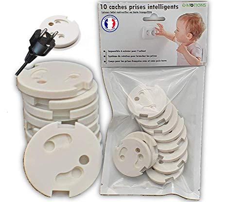 10 tapones para enchufes de bebé integrantes – Sin llaves – Mecanismo...