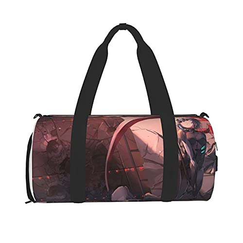 Borsa da palestra a tema Anime Eva, borsone unisex, borsa sportiva bagnata e asciutta, borsa sportiva da palestra