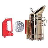 Jopwkuin Affumicatore Elettrico per api, affumicatore Elettrico Durevole ed Elettrico con Funzione di Ricarica per Apicoltore