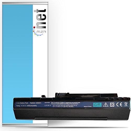 Batería compatible para Acer Aspire One 571(8.9), A110, A150, D150, D250, P531H, P531, ZG5y códigos originales LC.BTP00.017LC.BTP00.019LC.BTP00.043LC.BTP00.045LC.BTP00.046LC.BTP00.070LC.BTP00.071m08a31UM08A31UM08A51UM08A52UM08A71UM08A72UM08A73UM08A74UM08B71UM08B72UM08B73UM08B74 negro Nero Nera Black 4400mAh Black