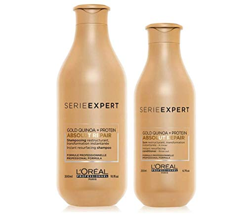 L'Oreal Professionnel Serie Expert Lipidium Absolut Repair Shampoo 300ml and Conditioner 200ml...