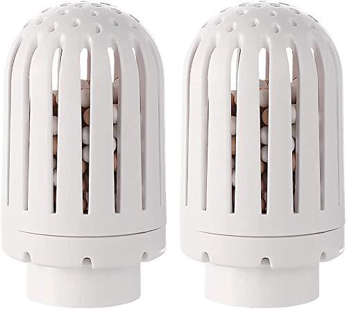 TaoTronics TT-AH001 TT-AH019 Ceramic Cartridges, Replacement Filters for Humidifiers, White, Pack of 2