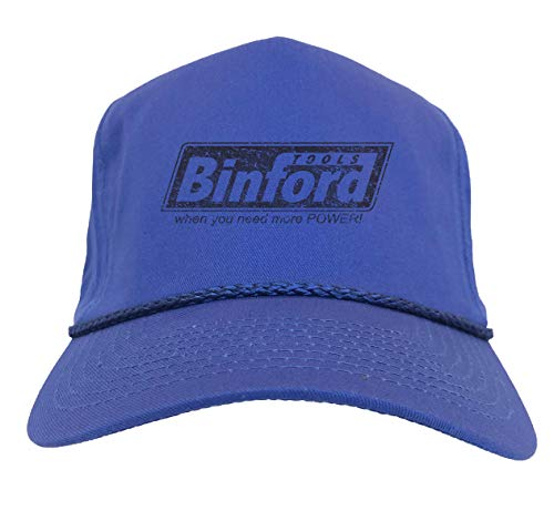 Binford Tools - TV Parody Funny Golf Hat (Royal Blue)
