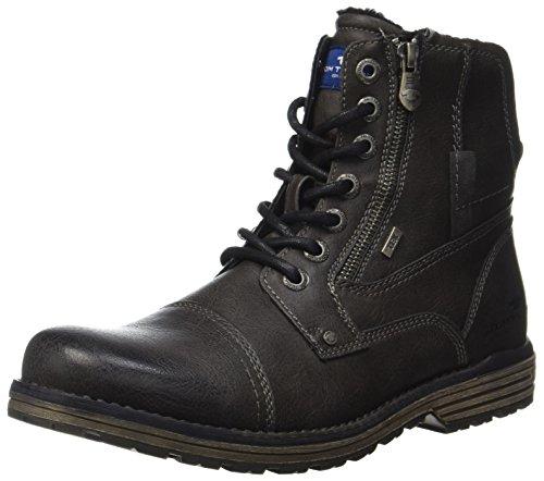 TOM TAILOR Herren 3780801 Klassische Stiefel, Grau (Coal), 45 EU