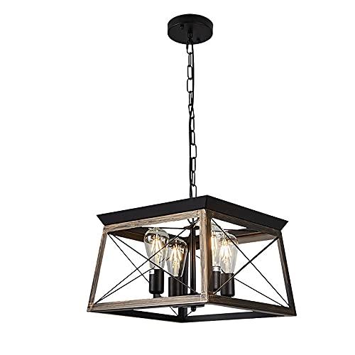 Coboca Lampadario Lampada Lampada a Sospensione Moderna Moderna Lampada a Sospensione Industriale, per Camera da Letto, corridoio, corridoio, Armadio, Ingresso, Scale
