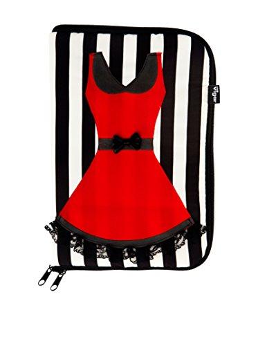 VIGAR Lulu Stripes Joyero de Viaje, Material: Tela Estampada