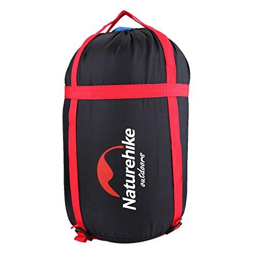 Zerone compressiezak voor slaapzak, draagbaar, met aantrekbanden, licht, waterdicht, voor slaapzak, kleding, ideaal voor reizen, kamperen, wandelen