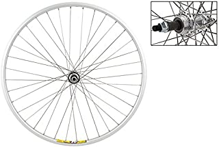 WheelMaster 700c Hybrid/Comfort Rear Wheel - Weinmann ZAC19, 5/6/7-Speed FW, 36H, Silver