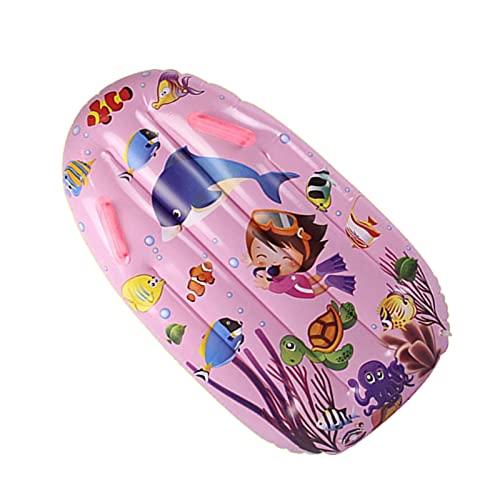Huaxingda Tabla inflable para niños, tabla de natación para niños, tabla de natación, tabla de agua, juguetes flotantes para piscina hinchable para niños