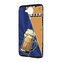 ハードケース スマホケース AQUOS Xx 404SH 用 BEER ビール・ブルー ビンテージ アメリカン レトロ USA SHARP シャープ アクオス ダブルエックス ymobile ワイモバイル スマホカバー 携帯ケース けーたいカバー beer_00z_h191@02