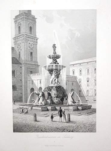 Residenzbrunnen in Salzburg // Salzburg Residenzbrunnen Residenzplatz Brunnen Österreich