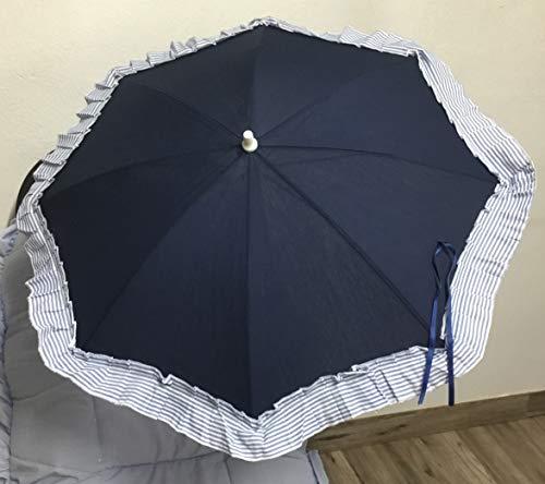 Sombrilla para silla de paseo + flexo universal. Parasol marino