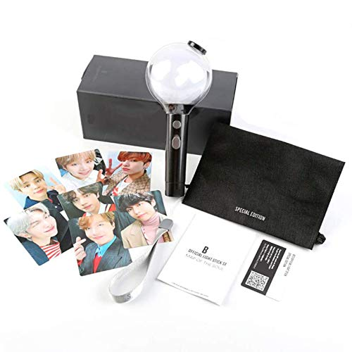 DSYYF Merch Army Bomb Offizieller Leuchtstab Ver 4 Bluetooth Karte der Seele Special Edition, APP Adjust Color Concert Light and Cheers