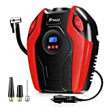Breezz Air Compressor, 12V DC Portable Auto Tire Pump with Digital...