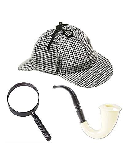 Nikki's Knick Knacks Sherlock Holmes- Inspector- Detective- Role Play Dress Up Costume