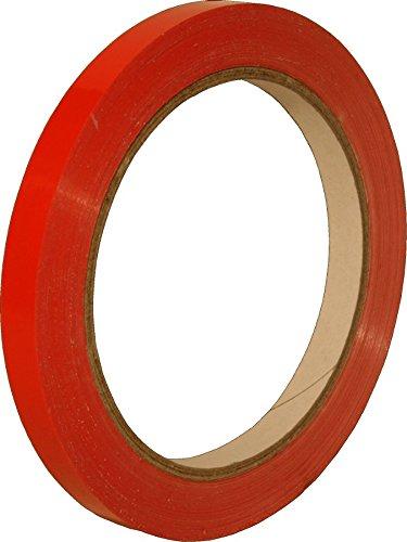Linienband, Konturband, Zierlinienband, 2 mm Breite, 66 m Länge, rot