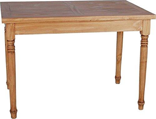 MiaMöbel Esstisch Mexico 110x76x70 cm Mexico Möbel Landhausstil Massivholz Pinie Honig