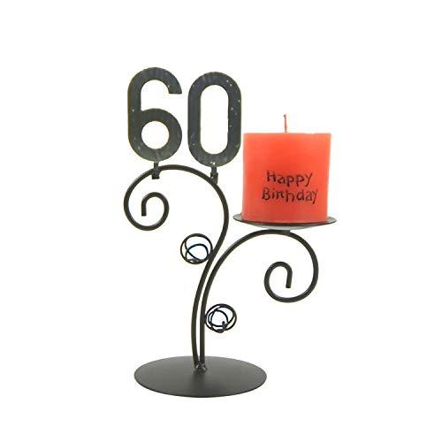 SünGross Leuchter Happy Birthday (60. Geburtstag)