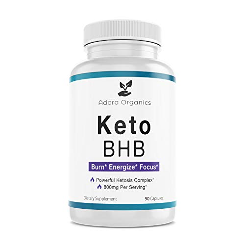 Keto BHB Diet - 800mg - Excellent Fat Burner Supplement - Ketosis Support - 90 Capsules 3